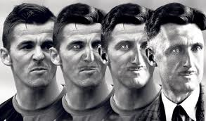 Of course former QPR star Joey Barton is the true inheritor of Orwell's mantle