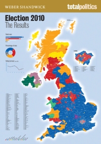 How we voted in 2010. My analysis: Wales definitely has the prettiest colour combo